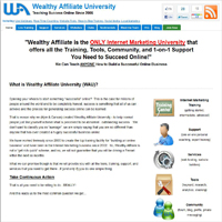 Wealthy Affiliate University image